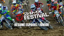 24MX Festival – Saint Jean d'Angely – Résumé Espoirs et Junior