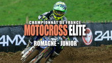 Elite Motocross – Romagné : Résumé Junior