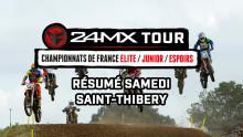 Motocross – Saint-Thibéry – Résumé samedi
