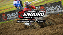 Enduro – Saint-Palais : Resumé samedi