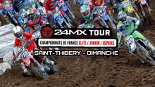 24MX Tour – Saint Thibery : Résumé Dimanche