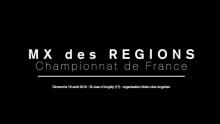 Championnat de France des Régions Motocross 2018