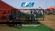 ///Championnat de France National 125 à Thomer-la-Sogne///