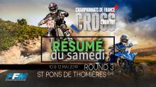 /// CROSS COUNTRY : CDF Résumé de l'épreuve du samedi – S-Pons de Thomières (34) ///