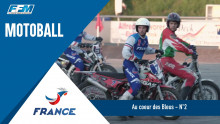 /// Equipe de France Motoball match France-Biélorussie ///