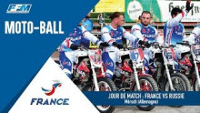 /// CHAMPIONNAT D'EUROPE DE MOTO-BALL – ALLEMAGNE : FRANCE VS RUSSIE ///