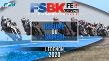 // RESUME DU SAMEDI – LEDENON (30) //