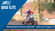 // CHAMPIONAT DE FRANCE DE QUAD CROSS – SAINT JEAN D'ANGELY (17) //