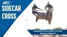 // CHAMPIONNAT DE FRANCE DE SIDECAR CROSS INTER – SAINT JEAN D'ANGELY (17) //