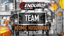 // TEAM – ATOMIC HUSQVARNA //