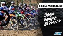 // STAGE DES ÉQUIPES DE FRANCE DE LA FILIÈRE MOTOCROSS A ERNÉE (53) //