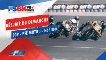 // RÉSUMÉ DU DIMANCHE OGP PRÉ MOTO 3 HONDA NSF 250 //