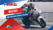 // MATOS CBO Racing Honda France //